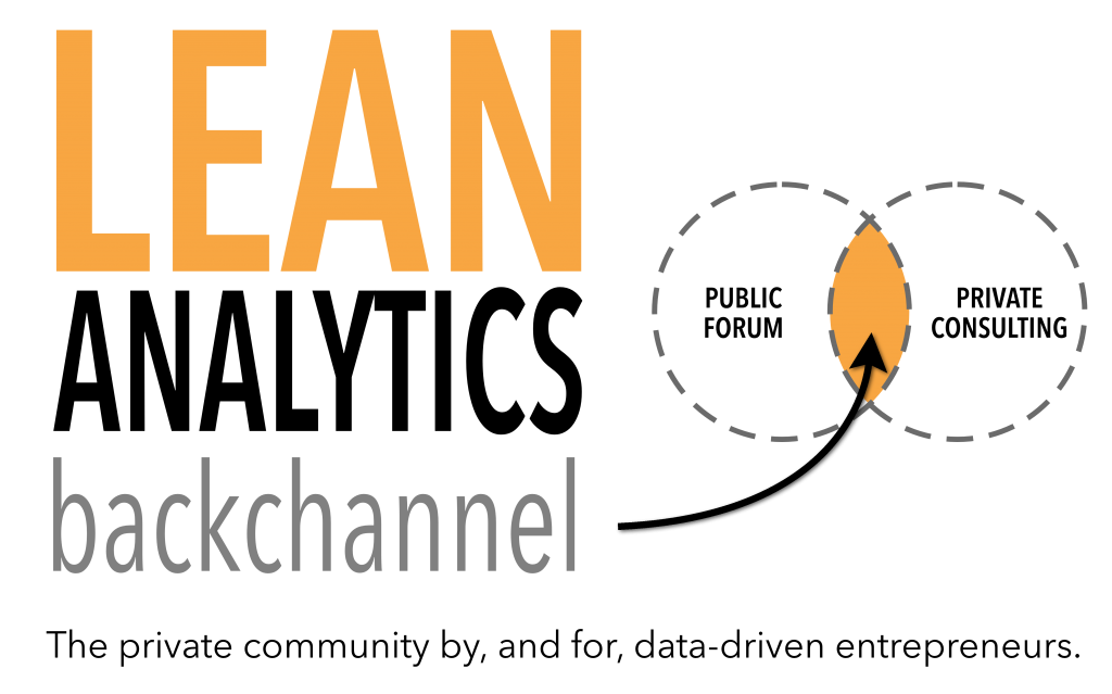 Lean Analytics backchannel header